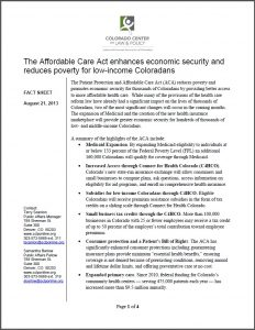 ACA enhances econ security photo cover