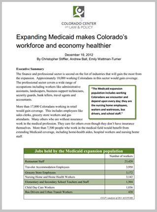 Expanding medicaid is good for Colorado2