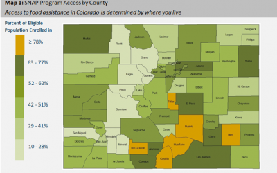A SNAP-shot of food stamp access in Colorado