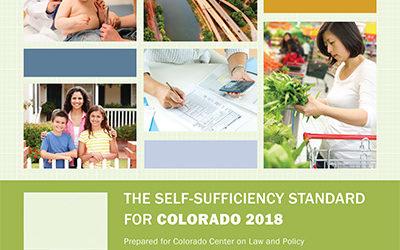Self-Sufficiency Standard for Colorado 2018