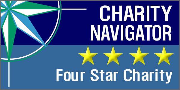Charity Navigator awards CCLP Four-Star ranking for the third consecutive year