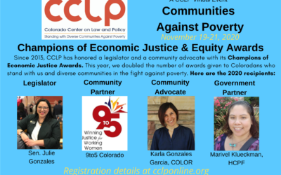 NEWS ALERT: 'Communities Against Poverty' virtual event sheds light on equity issues