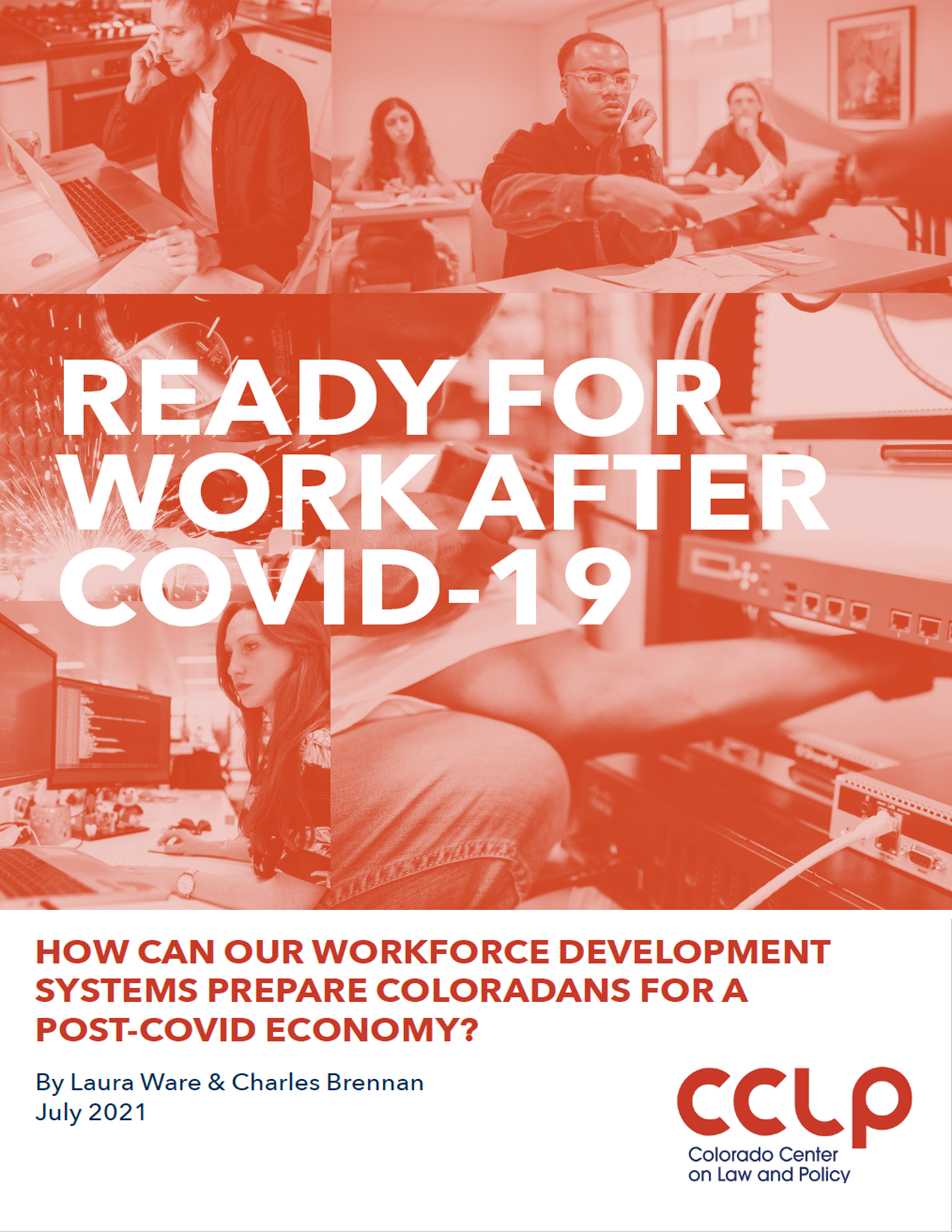 Ready for work after COVID-19 report cover image
