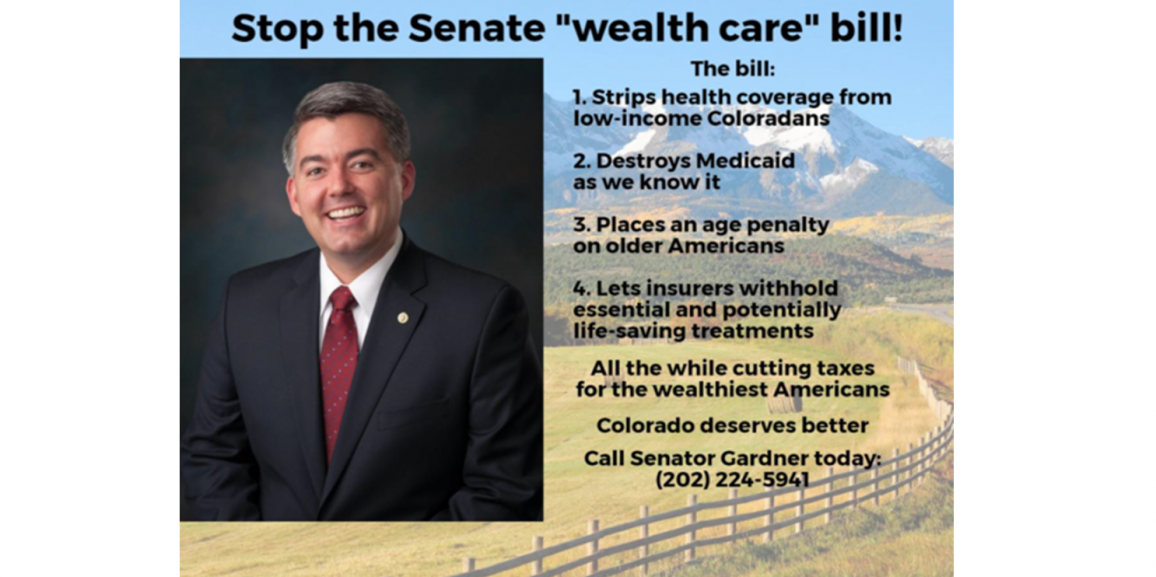 "ACTION ALERT: Stop the Senate ""wealth care"" bill!"
