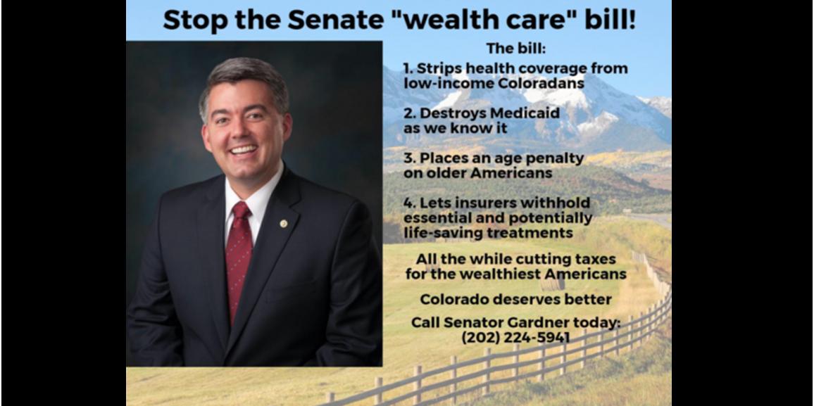 "ACTION ALERT: Stop the Senate ""wealth care"" bill!"